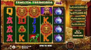 Cara bermain Temujin Treasure